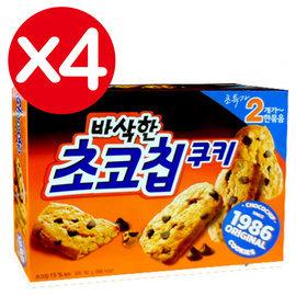 萬花筒 ~巧克力脆片餅乾~首爾 ORION 초코칩 104g^(盒^)^~4 下午茶 韓國