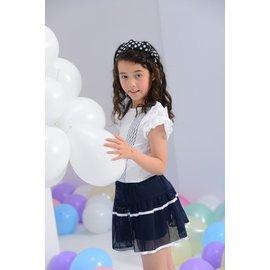 baby king  6120 藍色褲裙 110CM~160CM