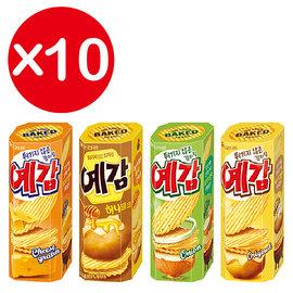 萬花筒 ~蜂蜜奶油風味預感洋芋片~首爾 61g^(盒^)^~10 一吃再吃 韓國 第一名