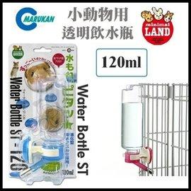 ~GOLD~~飲水器~ 品牌MARUKAN~WB~2小動物用透明飲水瓶^(120ml^)S