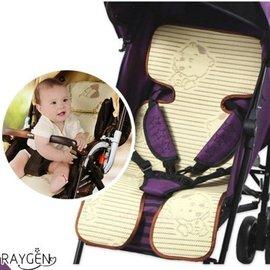 竹炭兒童涼蓆 寶寶 嬰兒 餐椅坐墊 亞麻草 涼蓆 推車墊子 草蓆 【HH婦幼館】