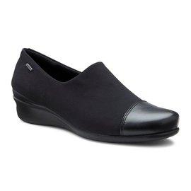 丹麥 2016 款 女鞋 ecco  黑 GORX-TEX款