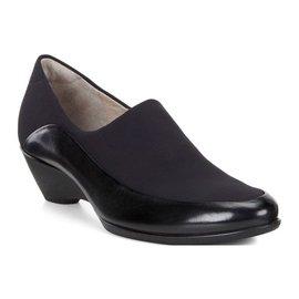 丹麥 2016 款 女鞋 ecco  黑跟鞋