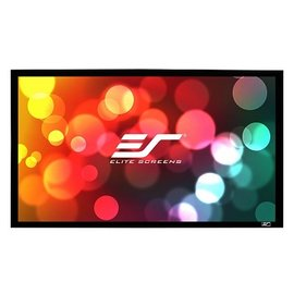 Elite Screens 135吋 16:9 9公分寬的邊框~ 家庭劇院固定框架幕~ 4