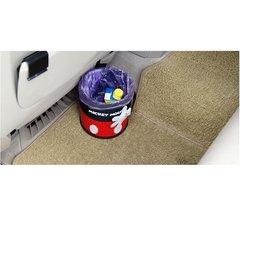 汽車用可愛卡通Mickey 垃圾桶 轎車車載收納桶 置物盒 辦公室居家收納 玩具 飲料水瓶