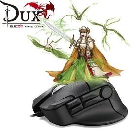 專為MMO RPG大型電競網遊 ELECOM DUX MMO遊戲滑鼠~入門款 10按鍵