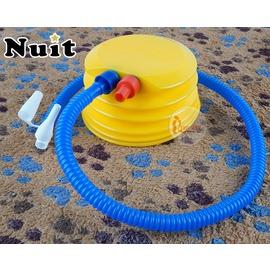 探險家戶外用品㊣NTP02 努特NUIT 充抽兩用雙向5吋手壓幫浦 打氣幫浦腳踩幫浦充放氣打氣筒 游泳圈腳踏幫浦充氣床墊打氣機