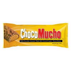 超 ^!Choco Mucho Peanut Butter巧口巧克力棒^(奶油花生口味^)