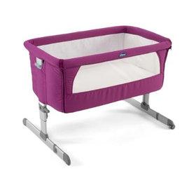 Chicco NEXT 2 ME多功能移動舒適嬰兒床-紫紅色/雪皓白