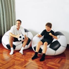 INTEX 足球沙發.充氣懶人椅 休閒懶骨頭 氣墊沙發