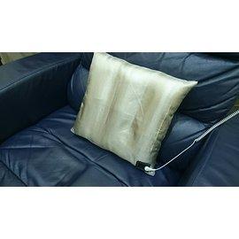 ~軟Q椅墊抱枕組~雙面全銀~100%銀纖布枕套~導電抗菌防臭—PK 接地枕套產品80美金