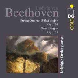 貝多芬弦樂四重奏第 9 輯  萊比錫弦樂四重奏第13號弦樂四重奏(作品130號)、大賦格曲