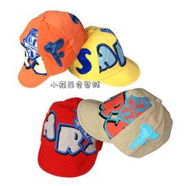 帥氣字母 風棉質帽^(1^) 48~52cm