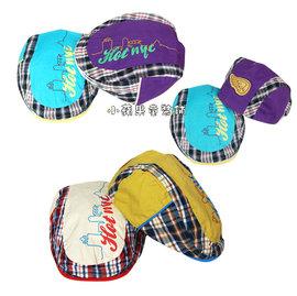 帥氣格紋款貝蕾帽^(5^) 48~52cm