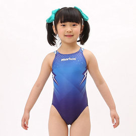 ≡MARIUM≡ 小女競賽型泳裝 MAR~6011WJ ^(比賽 訓練 連身 小孩 兒童泳