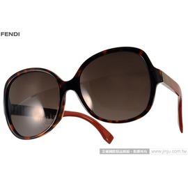 FENDI 太阳眼镜 FS0147KS N6X8H (琥珀-棕) 简约唯美百搭热销款 墨镜 # 金橘眼镜