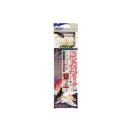 ◎百有釣具◎OWNER 歐娜 F-3680 附系魚皮鉤 規格:13號