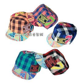 帥氣嘻哈款格子字母棉質帽 ^(14^) 46~50cm