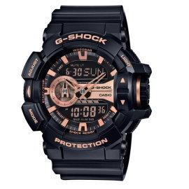 CASIO G~SHOCK 完美街頭雙顯 錶 黑 GA~400GB~1A4DR