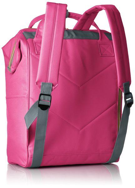 【黑皮酱】anello 日本空运来台 人气款后背包 超大开口设计 超大容量图片