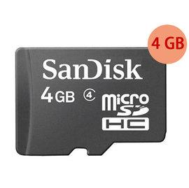 ~單卡~工業包 SanDisk 4GB 4G microSDHC~Class4~micro