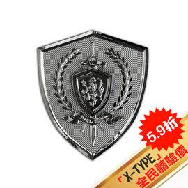 ~X~TYPE全民體驗版~RX~611^(M^) 王者之心  軟金屬 徽章 logo 於汽