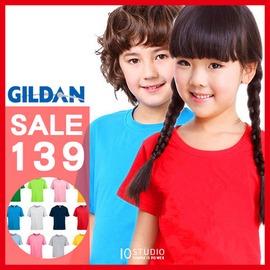 圓領童衣 GILDAN 76000兒童圓領純色短T 素T 多色~6P070503~