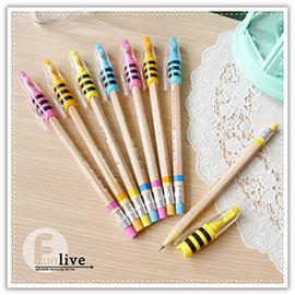 【Q禮品】B2935 蜜蜂2.0mm自動鉛筆-附削刀/2B免削鉛筆/工程筆/粗筆芯/製圖鉛筆/考試 試卷/繪圖/素描