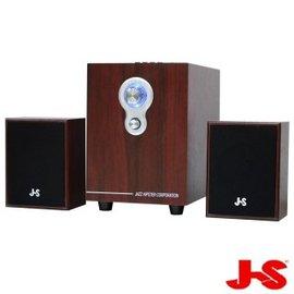 BKphone ~JS 淇譽電子~2.1聲道插卡全木質喇叭^(JY3080^)