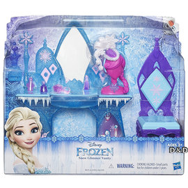 ~ Disney 迪士尼 ~冰雪奇緣 場景組 ~ 梳妝台╭~ JOYBUS歡樂寶貝