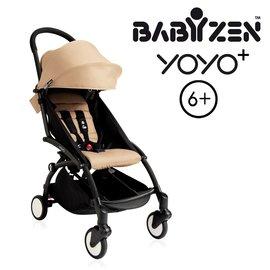【加購Borny全身包覆墊享$990】法國【BABYZEN】 YOYO-Plus手推車(褐色)