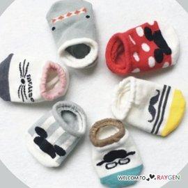卡通動物老鼠翹鬍子造型襪 寶寶襪 船襪 短襪【HH婦幼館】