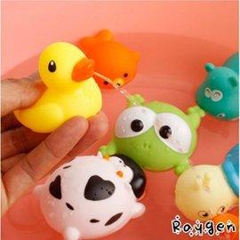 寶寶洗澡玩具 兒童 捏捏 噴水 小鴨 烏龜 嬰兒 戲水 0-3歲 【HH婦幼館】