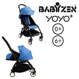 【8月可享$199起加購電扇】法國【BABYZEN】 YOYO-Plus手推車+新生兒套件(藍色)-預購9月到貨