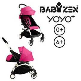 法國【BABYZEN】 YOYO-Plus手推車+新生兒套件(粉色)