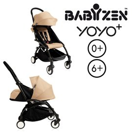 【8月可享$199起加購電扇】法國【BABYZEN】 YOYO-Plus手推車+新生兒套件(褐色)-預購9月到貨