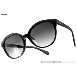 FENDI 太阳眼镜 FS0045FS 64H9O (黑) 浪漫经典唯美猫眼款 墨镜 # 金橘眼镜