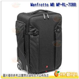 0利率  Manfrotto 曼富圖 MB MP~RL~70BB 大師級滾輪式攝影包