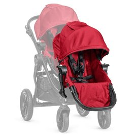 【紫貝殼●現貨】『GB08-3』【限量●黑框紅】2016年新款 Baby Jogger City Select 推車座椅(Second Seat)雙人第二座椅【公司貨】