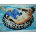玩樂 美國INTEX 58264 雙手把輪胎充氣游泳圈 坐圈 兒童浮圈 兒童夏天玩水 游泳