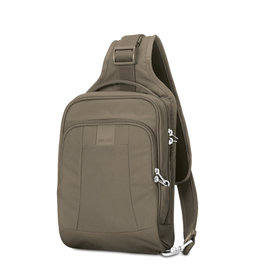 【澳洲 Pacsafe】Metrosafe LS150 防盜斜肩背包 7L /RFIDsafe保護/胸前背包.斜背包.肩背包/貼身防搶平板包/側背包