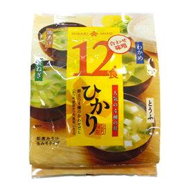 HIKARI味噌湯~綜合^(12食^)~198.6G