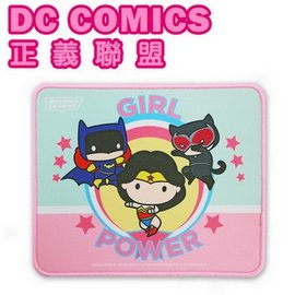 DC COMICS 正義聯盟電競 滑鼠墊~女孩力量 ^(WL~DCMP02^)