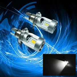◆彪雅^(LED光電^)◆ 1PCS x H4 HS1直上型 飛利浦晶片 LED G5 G