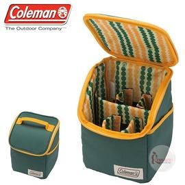 探險家戶外用品㊣CM-26810 美國Coleman 調味料罐盒II 抗污料理調味料收納提袋 (附防撞隔板) 置物盒調味瓶攜行袋 登山.露營.野營