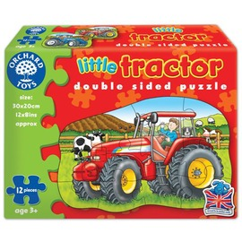Orchard Toys Little Tractor 雙面大拼圖農車