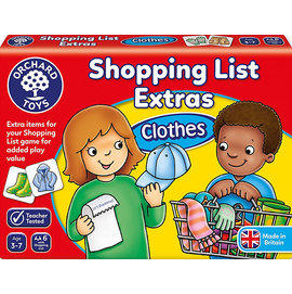 Orchard Toys Shopping List Extras: Clothes  配