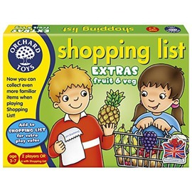 Orchard Toys Shopping List Extras: Fruit  Veg