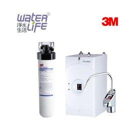 【淨水生活】3M 公司貨 CFS9812X 商用淨水器 + 普德 BD-3004NF 廚下型加熱器 ★附歐式雙溫電子式防燙龍頭