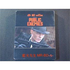 藍光BD  - 頭號公敵 Public Enemies BD-50G 鐵盒版 -【 瑜珈
